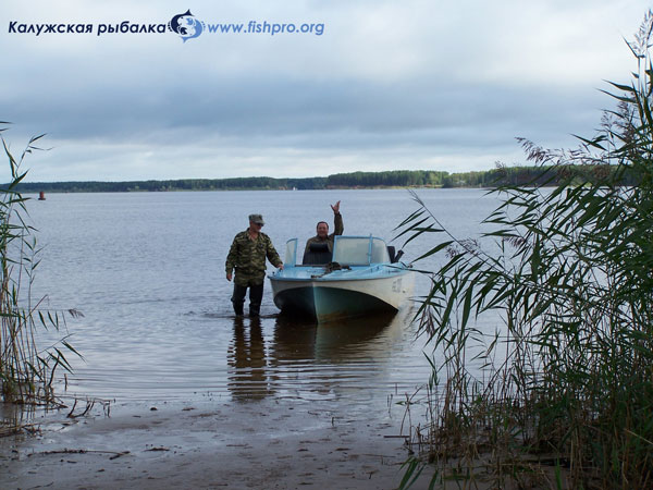 Дарвинский заповедник рыбалка